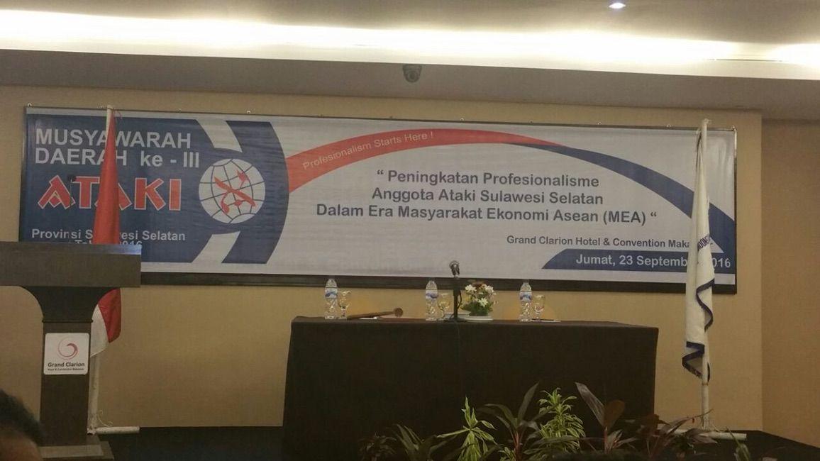 Musyawarah Daerah III ATAKI Sulawesi Selatan