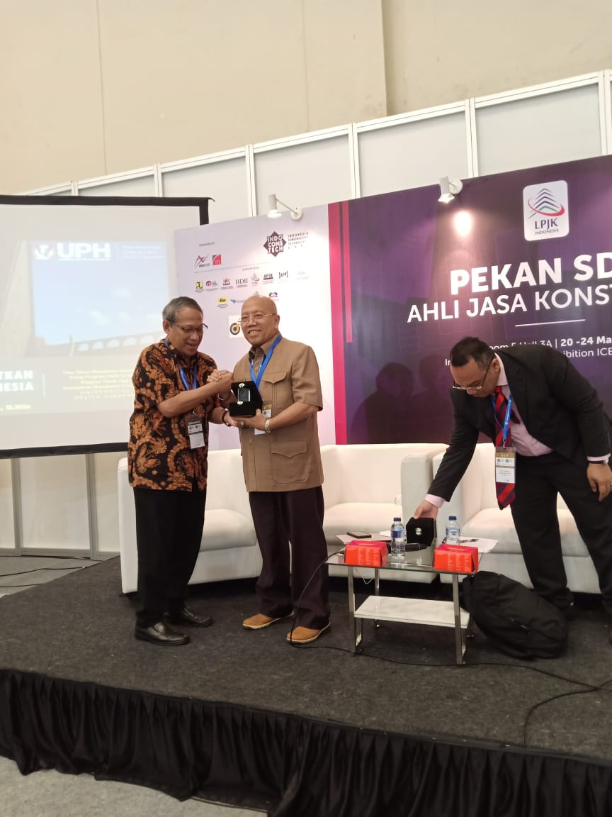 Pekan SDM Ahli Jasa Konstruksi Indonesia Convention  Exhibition ICE CBD, BSD CITY